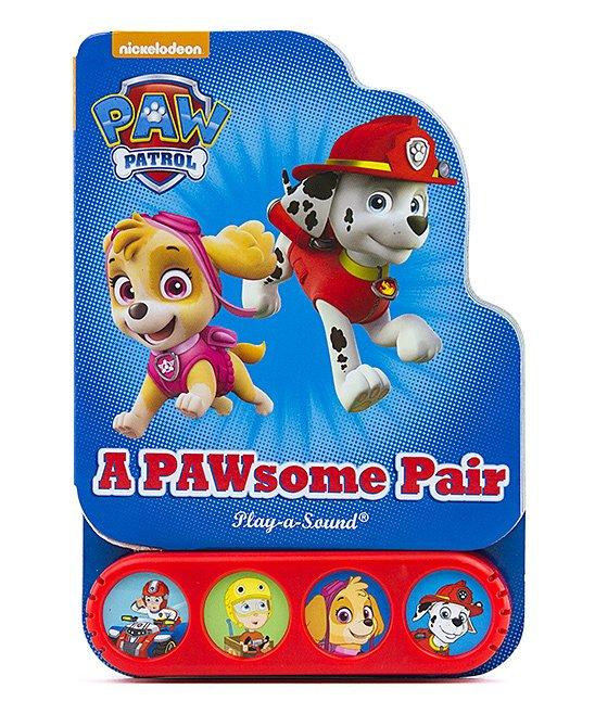 PAW Patrol Mini Sound Board Book - McGreevy's Toys Direct