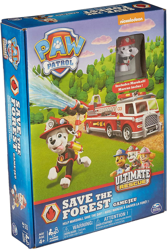 PAW Patrol Save the Forest Game - McGreevy's Toys Direct