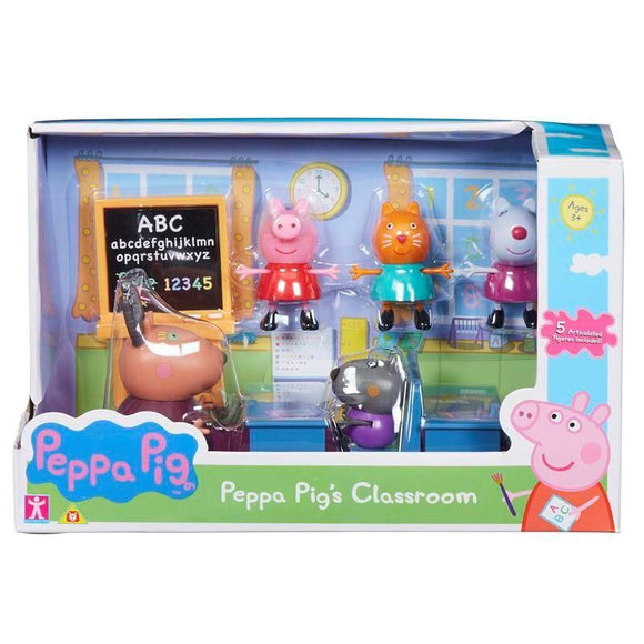PEPPA PIG Classroom - McGreevy's Toys Direct