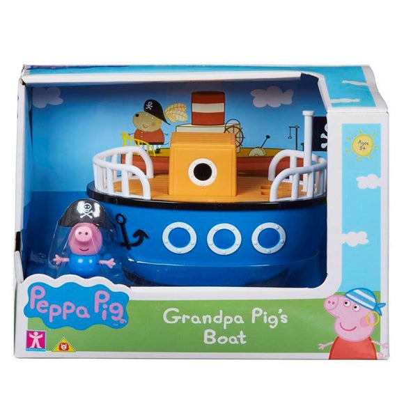 Peppa Pig Grandpa Pig's Boat - McGreevy's Toys Direct
