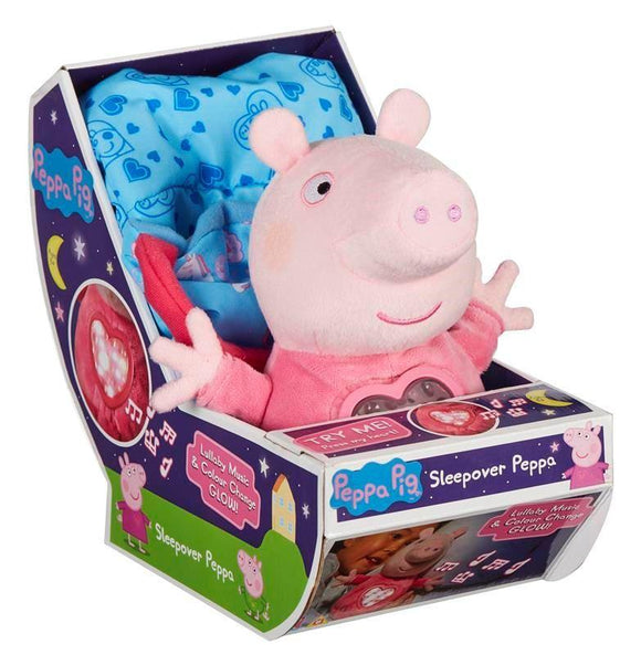 PEPPA PIG Sleepover Peppa - McGreevy's Toys Direct
