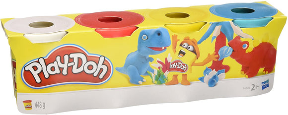 Play-Doh Classic Colours 4 Pack Assortment - McGreevy's Toys Direct