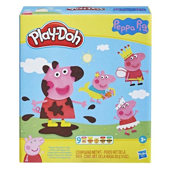 PLAY-DOH Peppa Pig Stylin Set - McGreevy's Toys Direct