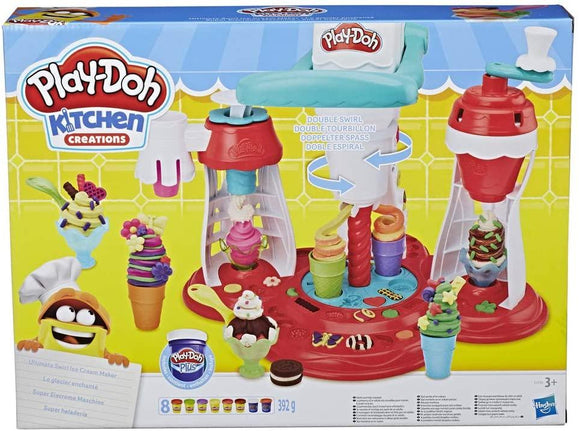 Play-Doh Ultimate Swirl Ice Cream Maker - McGreevy's Toys Direct