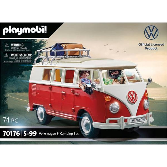 PLAYMOBIL 70176 Volkswagen T1 Camping Bus - McGreevy's Toys Direct
