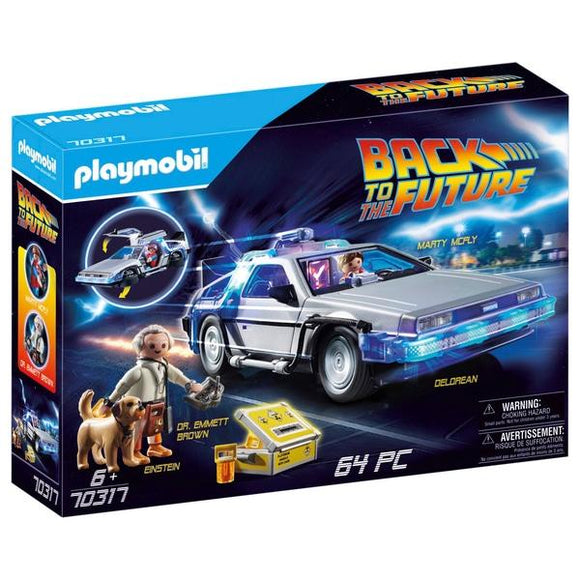 PLAYMOBIL 70317 Back to the Future DeLorean Car - McGreevy's Toys Direct