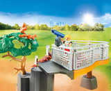 PLAYMOBIL 70343 Outdoor Lion Enclosure - McGreevy's Toys Direct