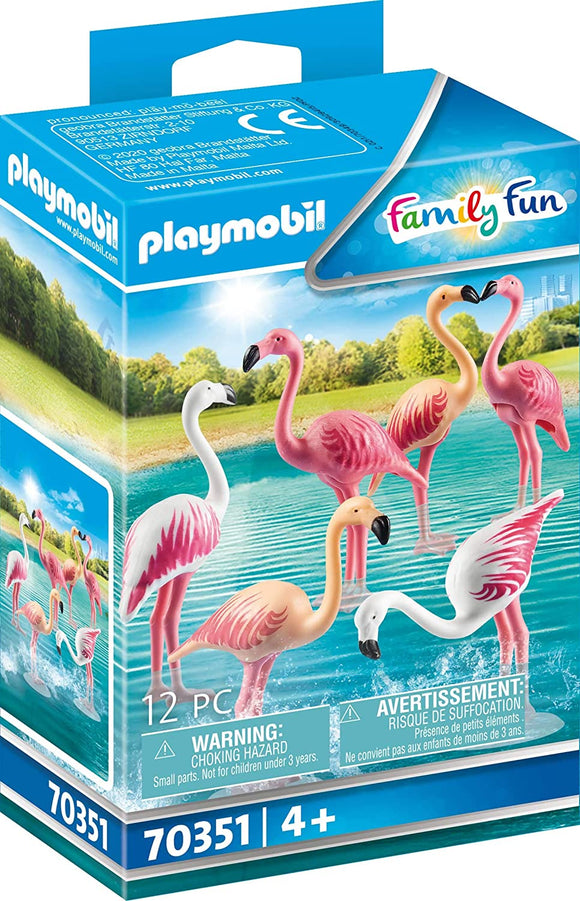 PLAYMOBIL 70351 Flock of Flamingos - McGreevy's Toys Direct