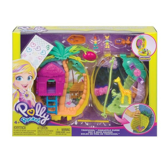 Polly Pocket Tropicool Pineapple Purse - McGreevy's Toys Direct