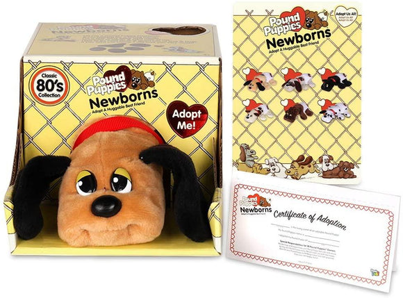 Pound Puppies Newborns, Assorted - McGreevy's Toys Direct