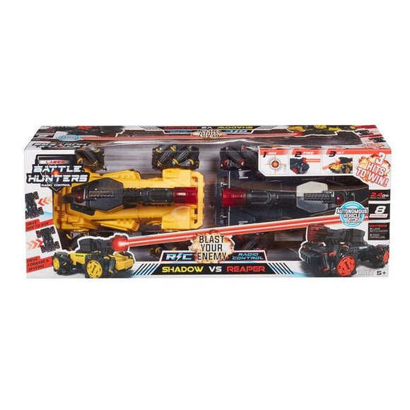 RC Laser Battle Hunters 2 Combat Vehicle Set - McGreevy's Toys Direct
