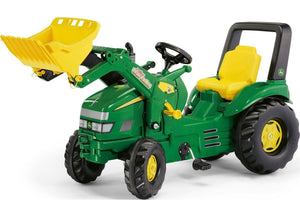 Rolly John Deere X-Trax Tractor and Loader - McGreevy's Toys Direct