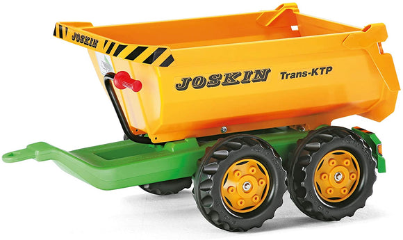 ROLLY Joskin Half Pipe Tipping Trailer - McGreevy's Toys Direct