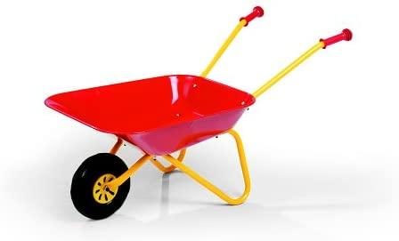 Rolly Metal Wheelbarrow Red - McGreevy's Toys Direct