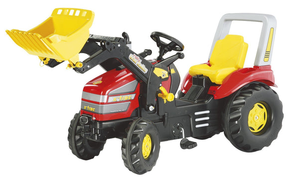 ROLLY Red X-Trac Tractor with Front Loader - McGreevy's Toys Direct