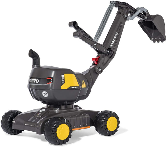 Rolly Ride-On Volvo Excavator on Wheels - McGreevy's Toys Direct