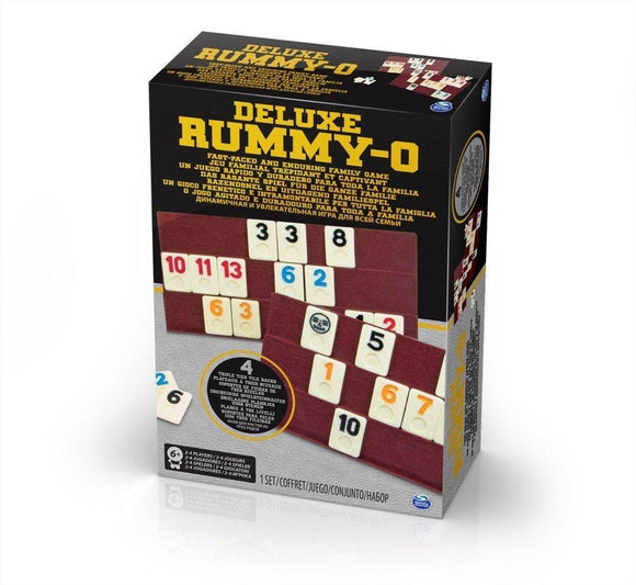 Rummy-O Deluxe - McGreevy's Toys Direct