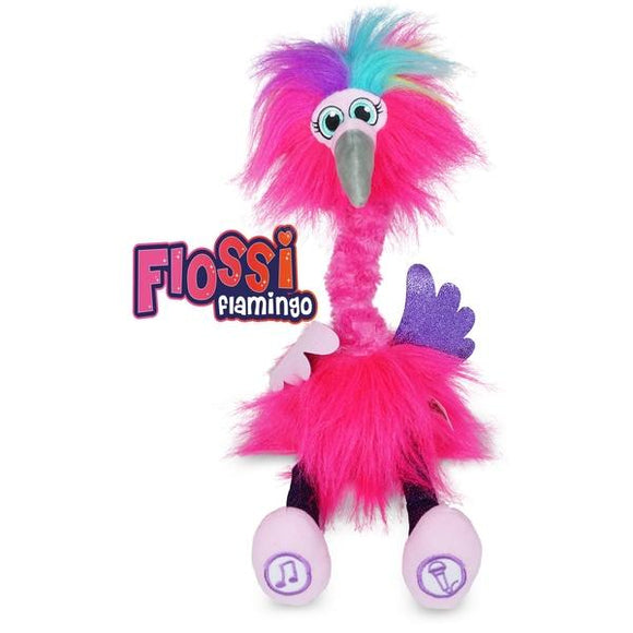 SASSIMALS Flossi the Flamingo - McGreevy's Toys Direct