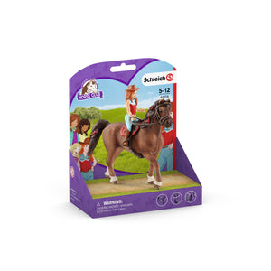 Schleich Horse Club Hannah & Cayenne - McGreevy's Toys Direct