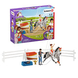 Schleich Horse Club Mia's Vaulting Set - McGreevy's Toys Direct