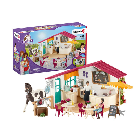 Schleich Horse Club Rider Cafe - McGreevy's Toys Direct