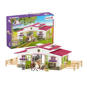 Schleich Horse Club Riding Centre with Rider and Horses - McGreevy's Toys Direct