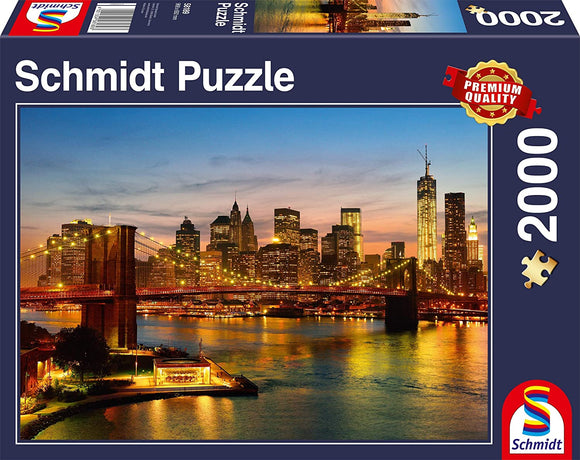 SCHMIDT New York 2000 Piece Puzzle - McGreevy's Toys Direct