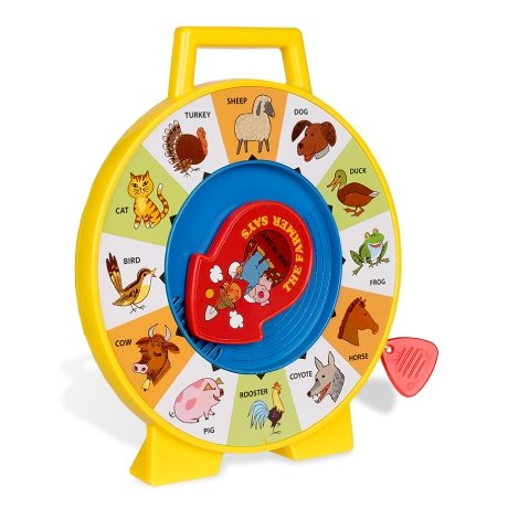 See & Say, The Farmer Says - Fisher Price Classic Toys - McGreevy's Toys Direct