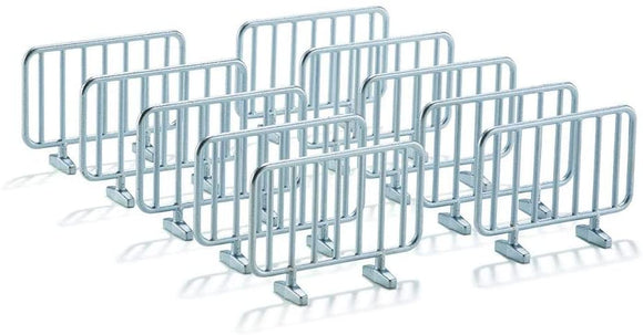 SIKU 2464 10 Barriers 1:32 Scale - McGreevy's Toys Direct