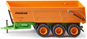 SIKU 2892 Joskin Triple-Axle Tipping Trailer 1:32 Scale - McGreevy's Toys Direct
