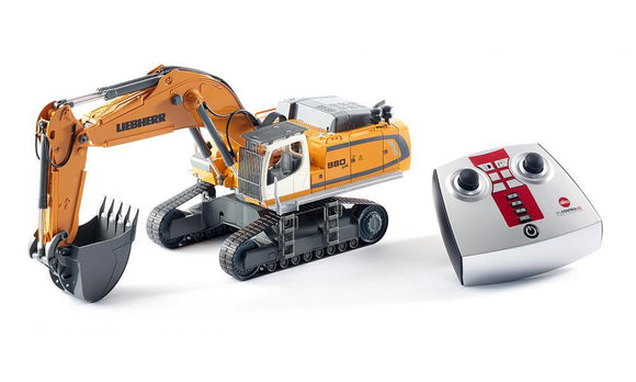 Siku 6740 Remote Controlled Liebherr R980 SME Crawler Excavator 1:32 - McGreevy's Toys Direct