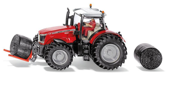 SIKU 8614 Massey Ferguson with Bale Handler - McGreevy's Toys Direct