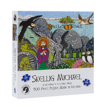 Skellig Michael 500 Piece Puzzle - McGreevy's Toys Direct