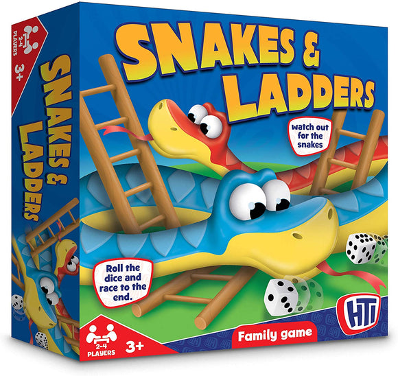 Snakes & Ladders - McGreevy's Toys Direct