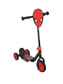 Spider-Man Deluxe Tri-Scooter - McGreevy's Toys Direct