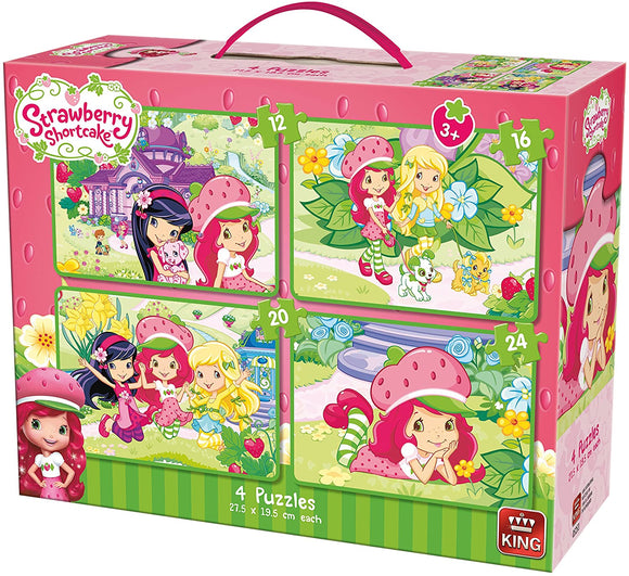 Strawberry Shortcake 4-in-1 Puzzle Case - McGreevy's Toys Direct