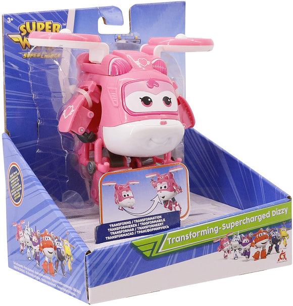 Super Wings Transforming Supercharge Dizzy - McGreevy's Toys Direct