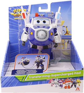 Super Wings Transforming Supercharge Paul - McGreevy's Toys Direct