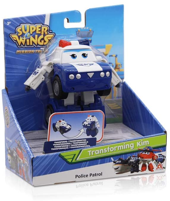 Super Wings Transforming Vehicle - Kim - McGreevy's Toys Direct