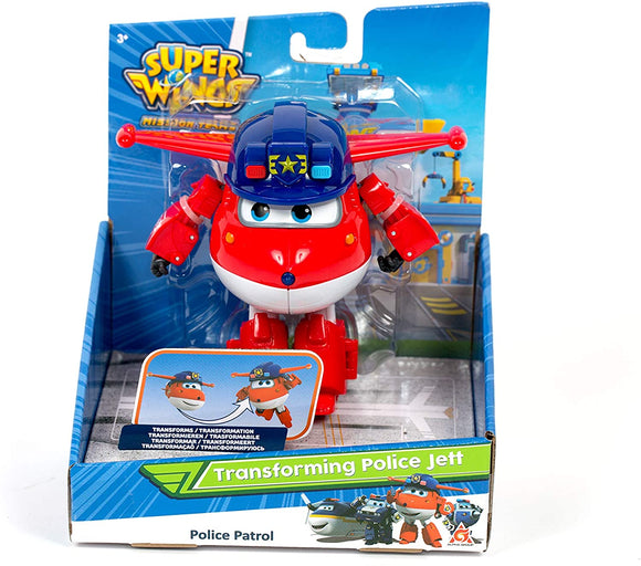 Super Wings Transforming Vehicle - Police Jett - McGreevy's Toys Direct