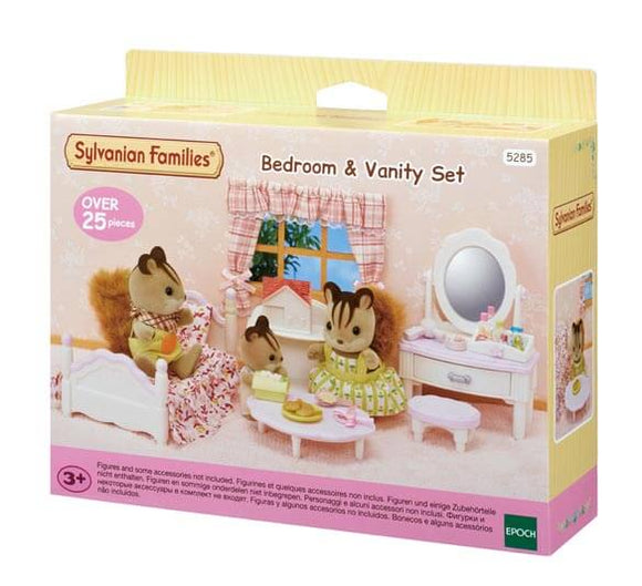 Sylvanian Families Bedroom & Vanity Set - McGreevy's Toys Direct
