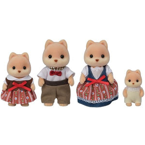Sylvanian Families Caramel Dog Family - McGreevy's Toys Direct