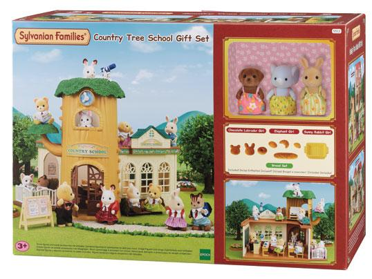 Sylvanian Families Country Tree School Gift Set - McGreevy's Toys Direct