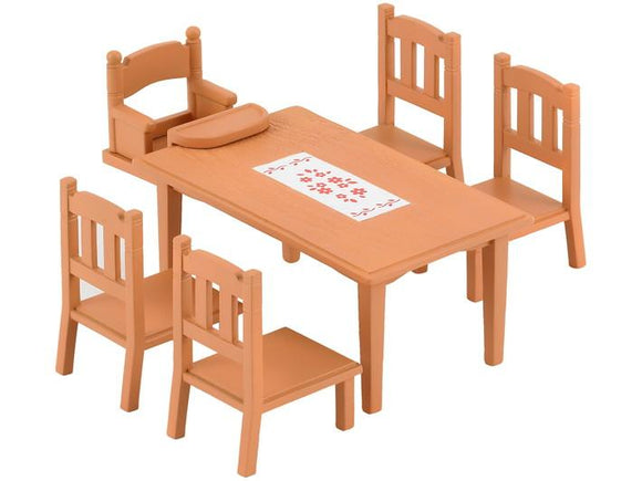 Sylvanian Families Family Table & Chairs - McGreevy's Toys Direct