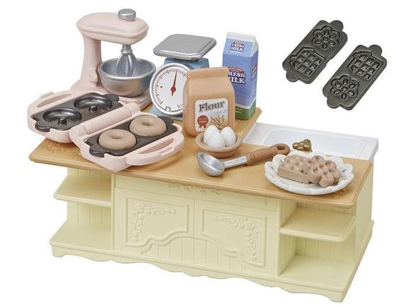 Sylvanian Families Kitchen Island - McGreevy's Toys Direct