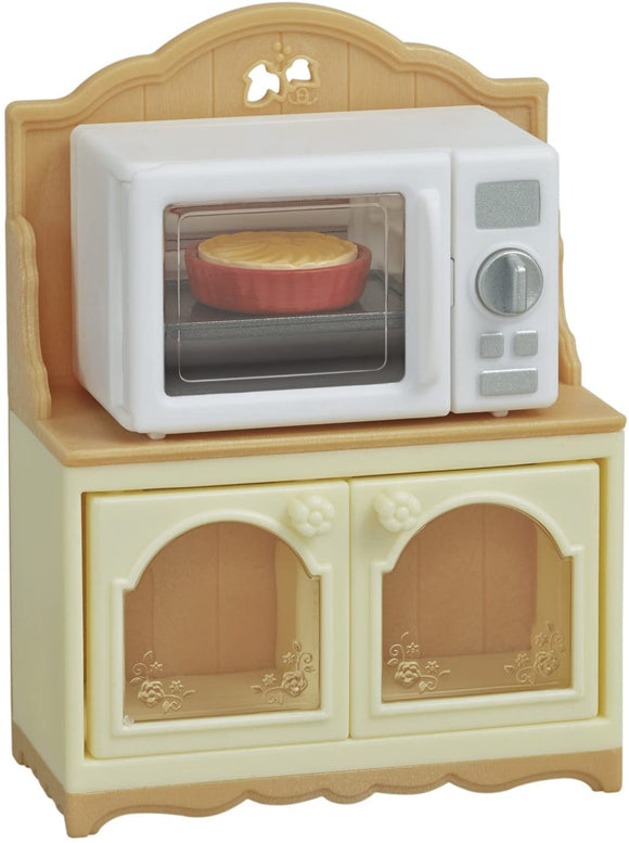 Sylvanian Families Microwave Cabinet - McGreevy's Toys Direct
