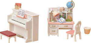 Sylvanian Families Piano & Desk Set - McGreevy's Toys Direct