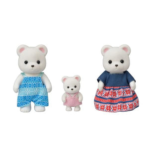 Sylvanian Families Polar Bear Family 3 Pack - McGreevy's Toys Direct