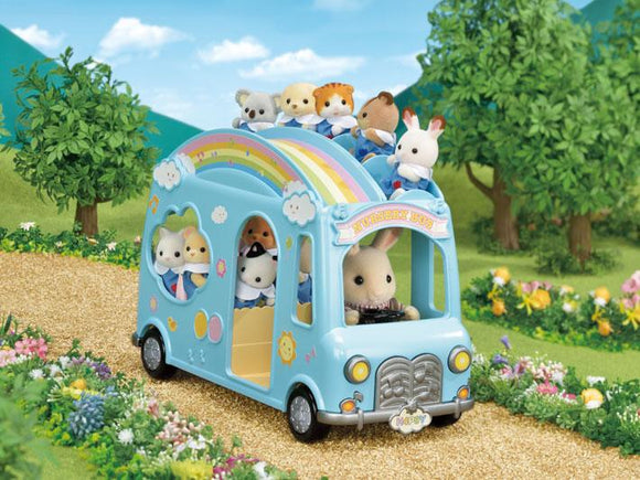 Sylvanian Families Sunshine Nursery Bus - McGreevy's Toys Direct
