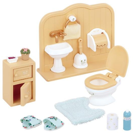 Sylvanian Families Toilet Set - McGreevy's Toys Direct